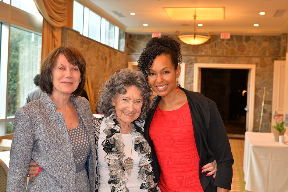 Carolyn Glickstein, Tao Porchon-Lynch and Teresa Kennedy at the 31st Annual Women's Hall of Fame in Tarrytown, NY - 03/27/15