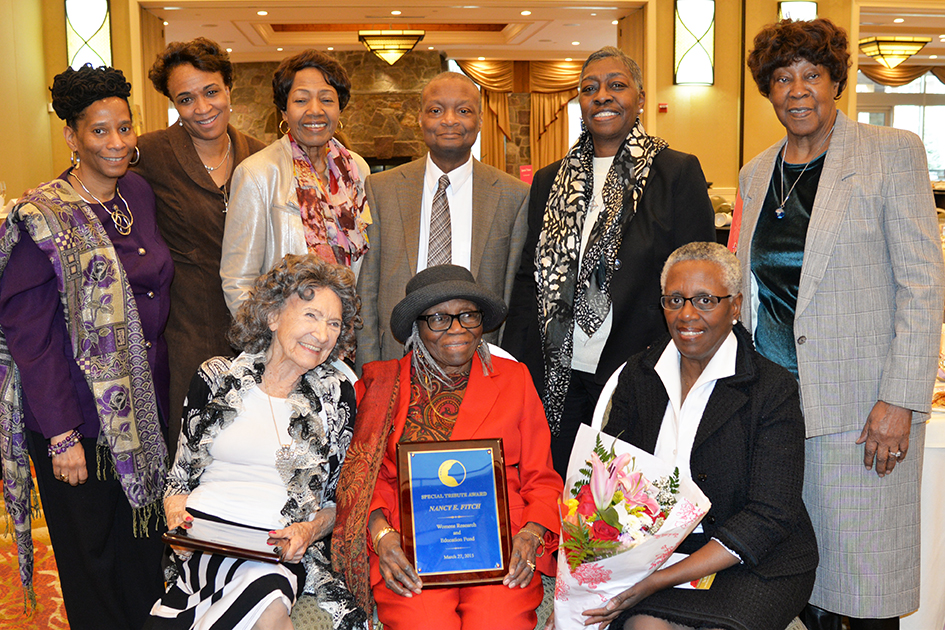 Tao Porchon-Lynch, Nancy Fitch and Family at the 31st Annual Women's Hall of Fame in Tarrytown, NY - 03/27/15