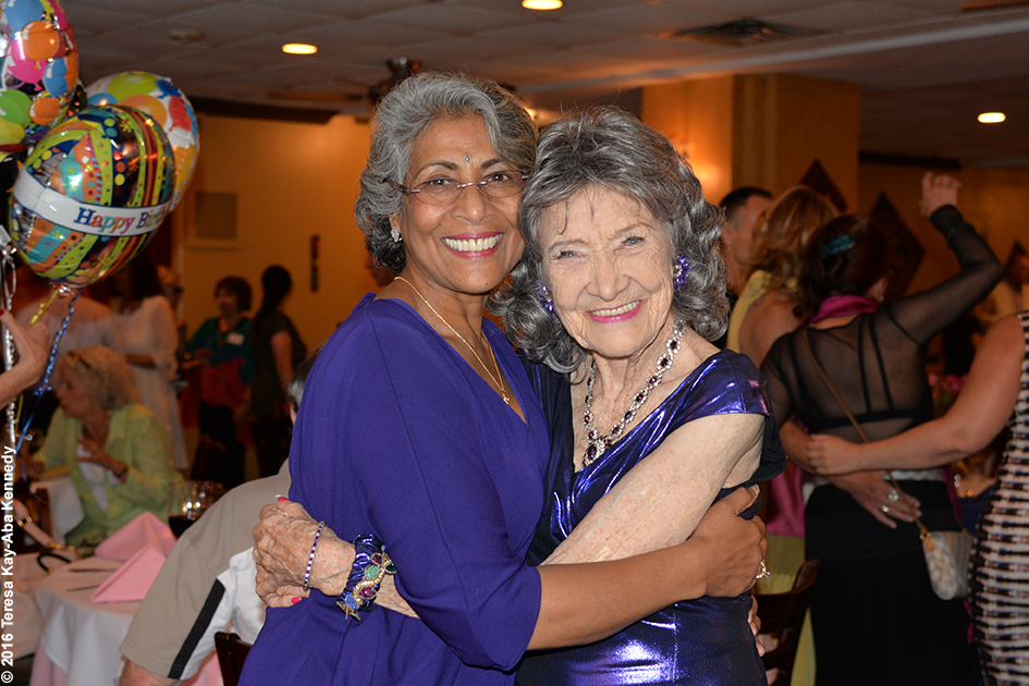 Yoga Master Tao Porchon-Lynch's 98th Birthday Party at the Taj Palace Restaurant in White Plains, NY - August 7, 2016