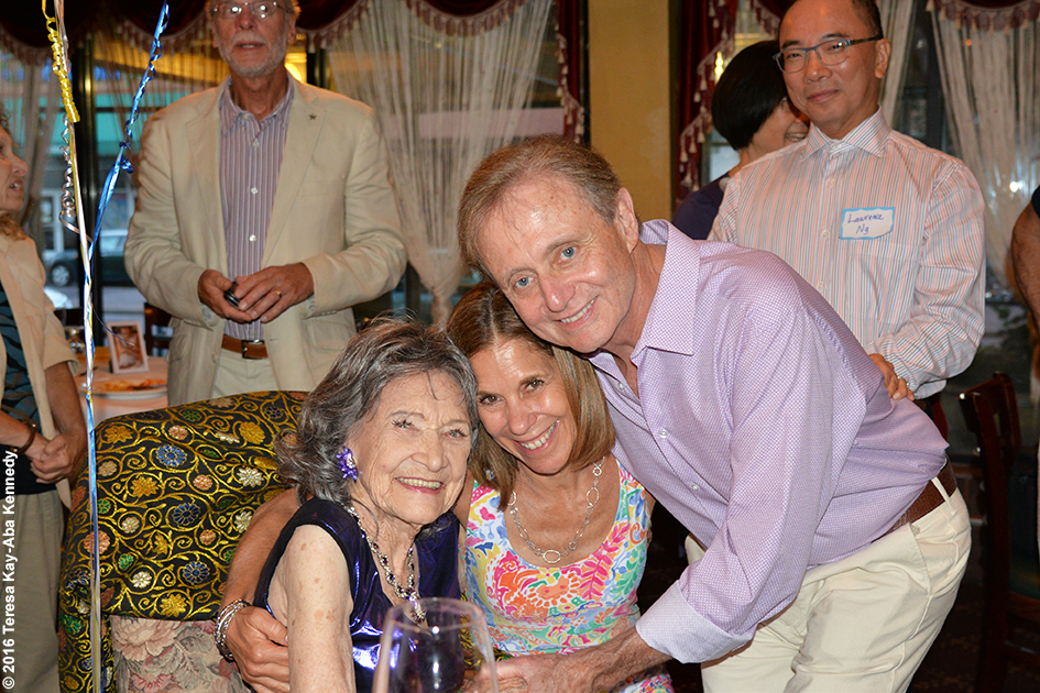 Yoga Master Tao Porchon-Lynch 98th Birthday Party at Taj Palace Restaurant in White Plains, NY - August 7, 2016
