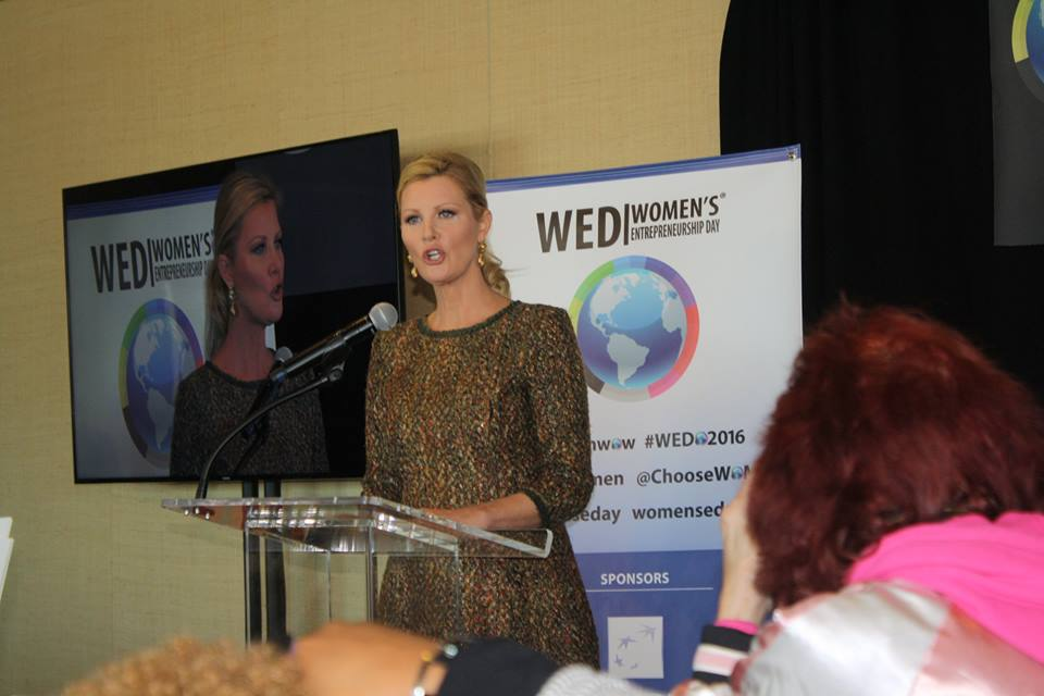 Sandra Lee at Women's Entrepreneurship Day at the United Nations in New York - November 18, 2016