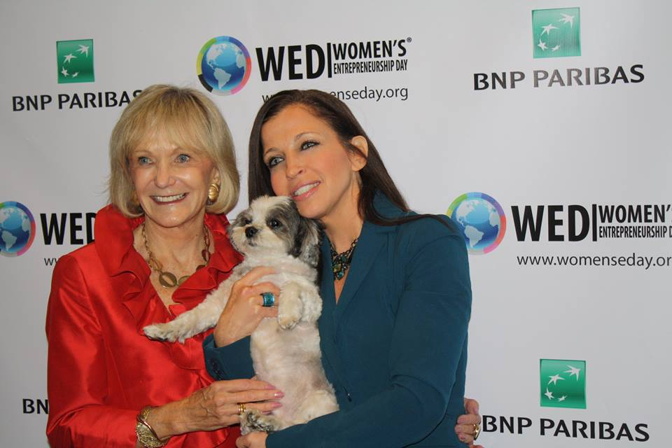Kay Koplovitz and Wendy Diamond at Women's Entrepreneurship Day at United Nations in New York - November 18, 2016