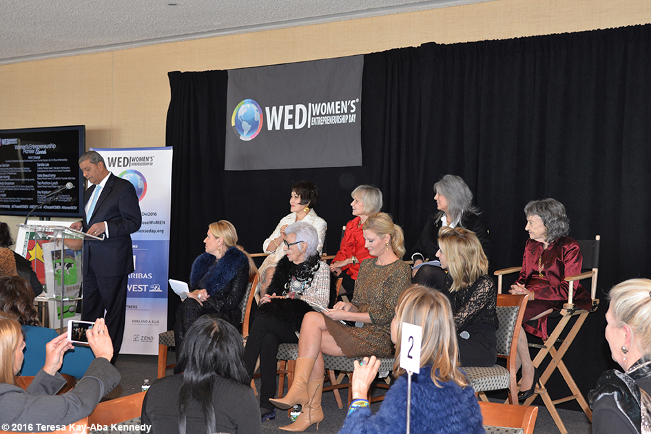 Women's Entrepreneurship Day at the United Nations in New York - November 18, 2016