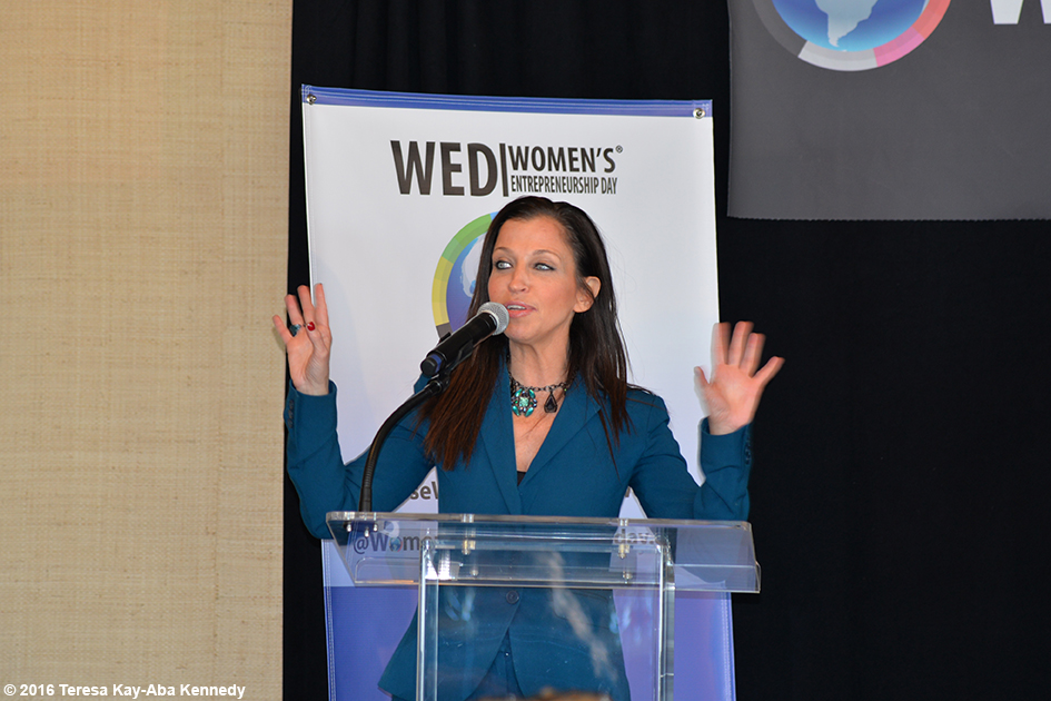 Wendy Diamond at Women's Entrepreneurship Day at the United Nations in New York - November 18, 2016