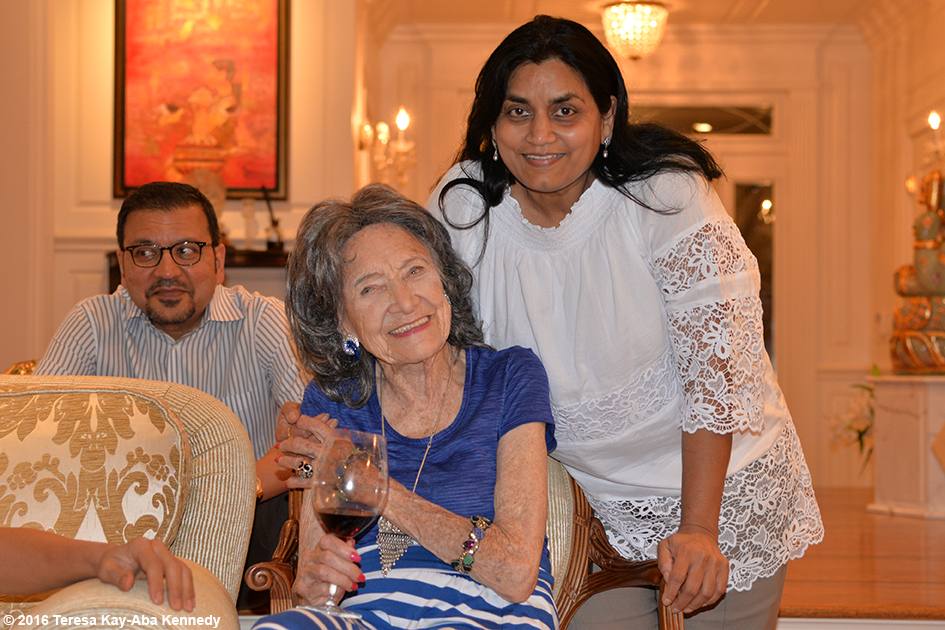 98-year-old yoga master Tao Porchon-Lynch at Book Club on Dancing Light in NY - October 17, 2016