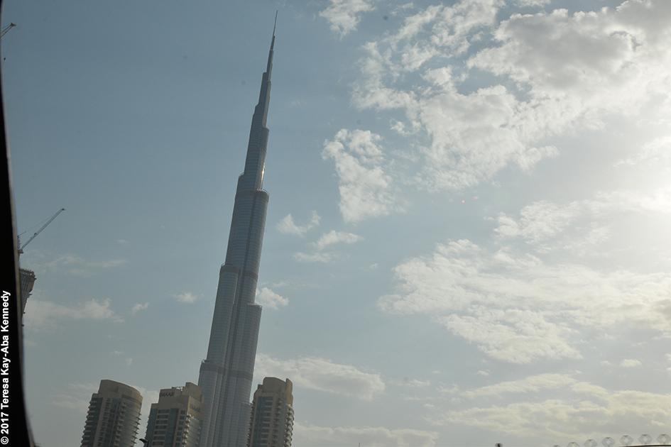 View of Burj Khalifa in Dubai - February 11, 2017