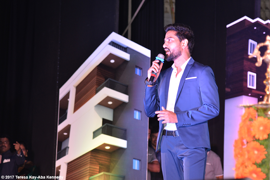 Co-host of award ceremony in Bangalore, India - June 19, 2017