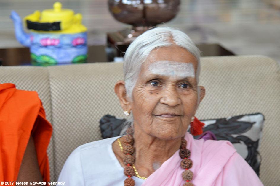 97-year-old Amma V. Nanammal in Bangalore, India - June 20, 2017